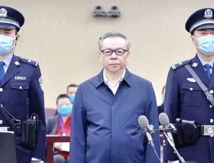 چینی فرموں کے سربراہ کی 260 ملین کی کرپشن، سزائے موت سنا دی گئی۔
