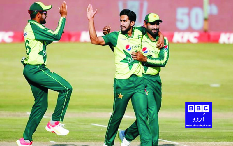 پاکستان نے زمبابوے کو تیسرے T-20 میں شکست دے کر سیریز اپنے نام کرلی۔