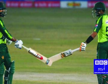 پاکستان نے زمبابوے کو پہلے ٹی ٹونٹی میں 11 رنز سے شکست دے دی