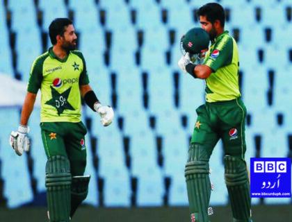 تیسرا ٹی 20 میچ، پاکستان نے جنوبی افریقہ کو 9 وکٹوں سے شکست دیدی۔