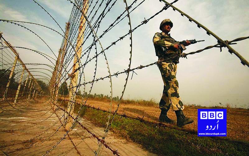 بھارت کی جانب سے جنگ بندی کے معاہدے کی خلاف ورزی۔