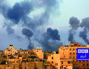 اسرائیلی حملوں کے نتیجے میں 26 فلسطینی ہلاک، 122 زخمی